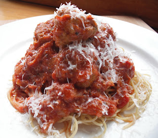 Quick Spaghetti and Turkey Meatballs