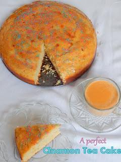 A perfect Cinnamon Tea Cake