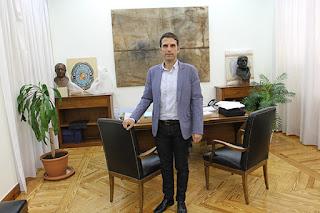 Javier Rodríguez, alcalde de Alcalá de Henares
