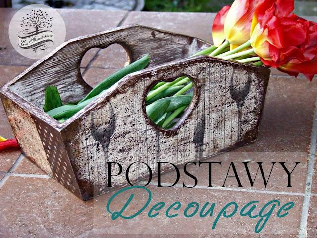 podstawy decoupage decoupage step by step by eco manufaktura