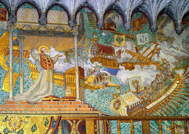 São Pio V e a visão da vitória de Lepanto, Lyon