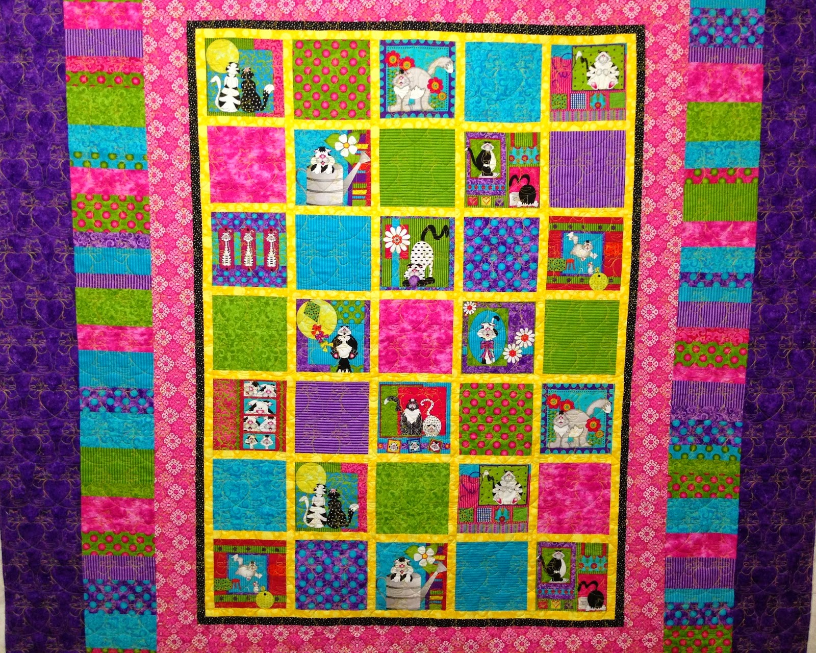 Jeri Couthen Kitty Quilt