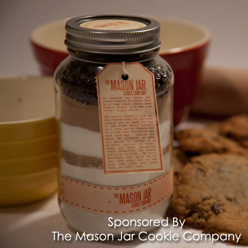 ... Custom Cookie Mix By The Mason Jar Cookie Co. Makes Gift Giving Easy