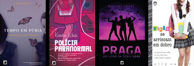 Lançamento de livros Editora Galera Record Outubro