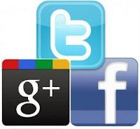 Twitter, Facebook, Google +...