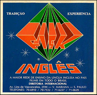 inglês Fisk, década de 70. os anos 70; propaganda na década de 70; Brazil in the 70s, história anos 70; Oswaldo Hernandez;