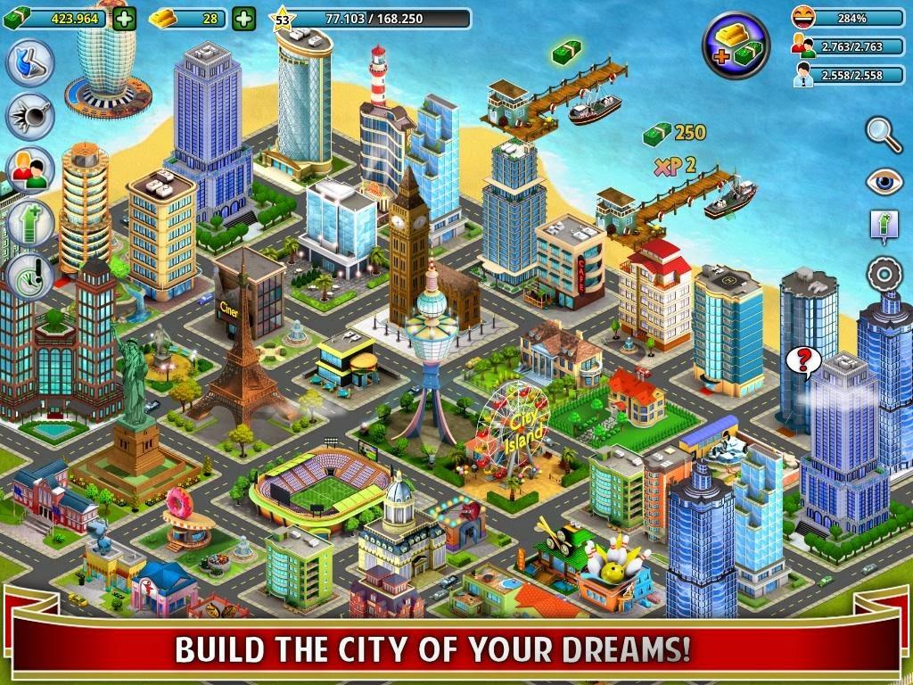City Island MOD APK v2.14.4 (2.14.4) (Mod Unlimited Golds+Money)