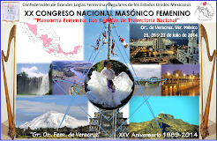 "XX Congreso Masónico Nacional Femenino ""Veracruz 2014"""