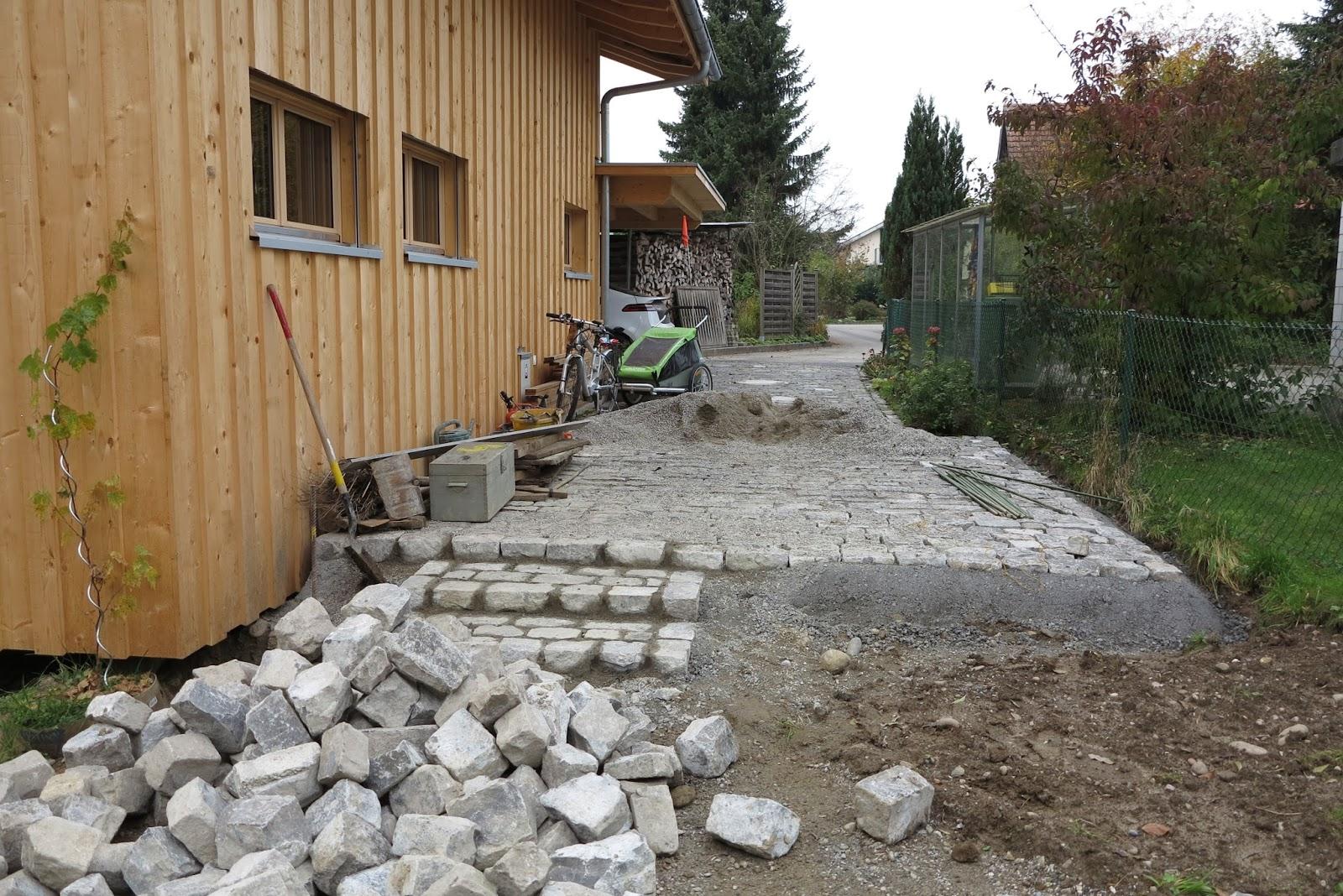 Holzhaus wir bauen ein haus aus holz garten treibhaus for Gartengestaltung ostseite