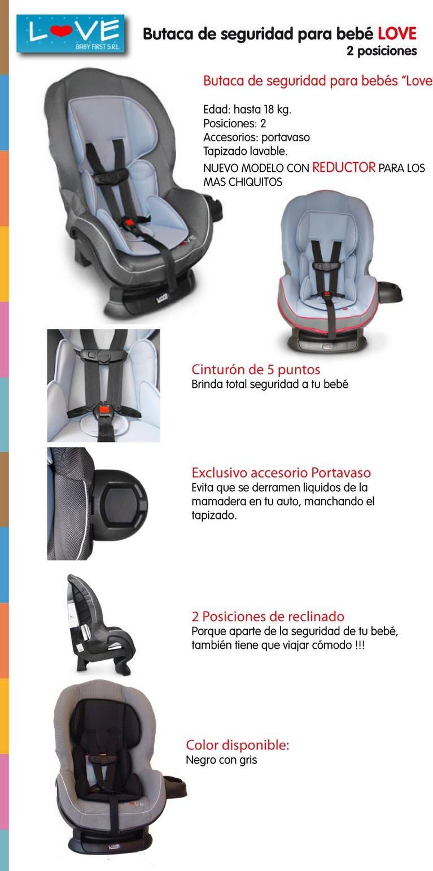 Resco rodados for Butaca de bebe para auto