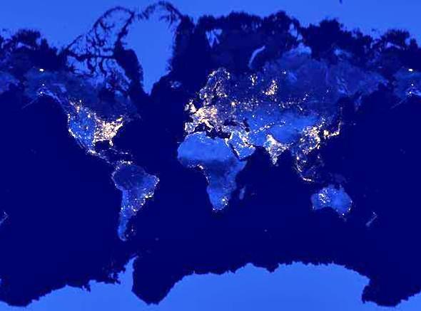 le monde la nuit