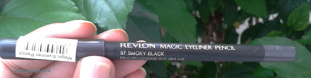 REVLON MAGIC EYELINER SMOKEY BLACK 97 REVIEW