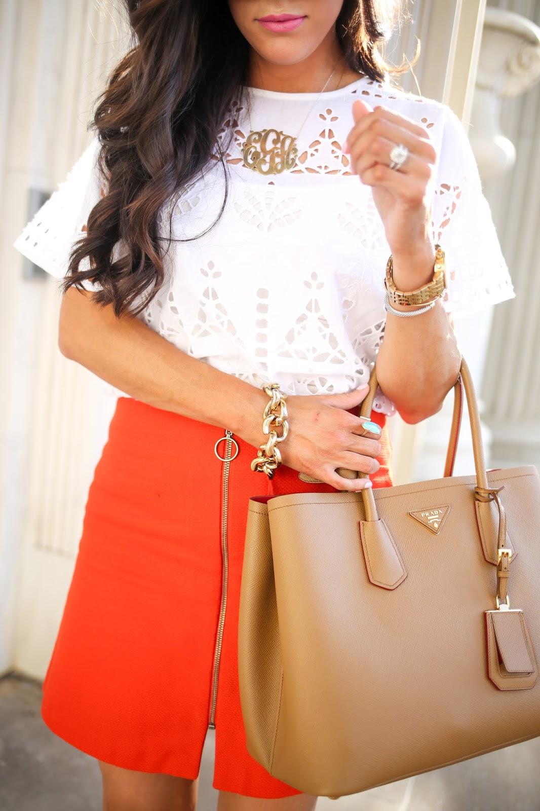 prada satchel - prada orange bag