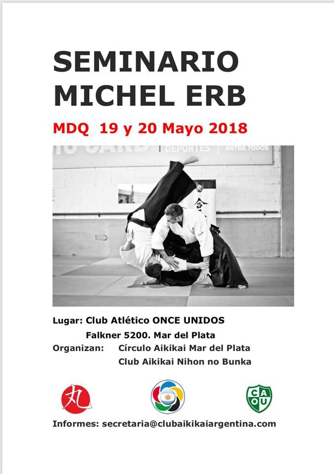 Michel Erb Sensei. ARG 2018