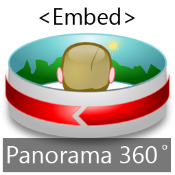 How to Embed a Panorama 360 image in your Blog/ Website?