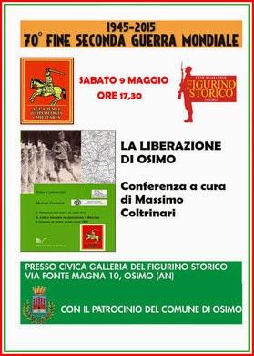 Osimo 9 maggio 2015 Ore 17.30 Galleria del Figurino Storico