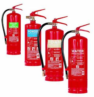 Jenis alat pemadam kebakaran