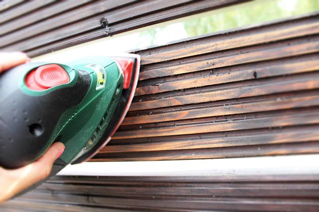 myjka bosch, wkereceniwdom, DIY blog majsterkowanie zrób to sam, przerabiam stare na nowe,blog DIy, mycie myjklą wyskociśnieniową, jaką myjkę wybrać, łatwa w obsłudze myjlka wysokociśnieniowa,szlifierka bezprzewodowa bosch, jak odnowić ogrodzenie, krok po kroku jak odnowić elementy drewniane w ogrodzie