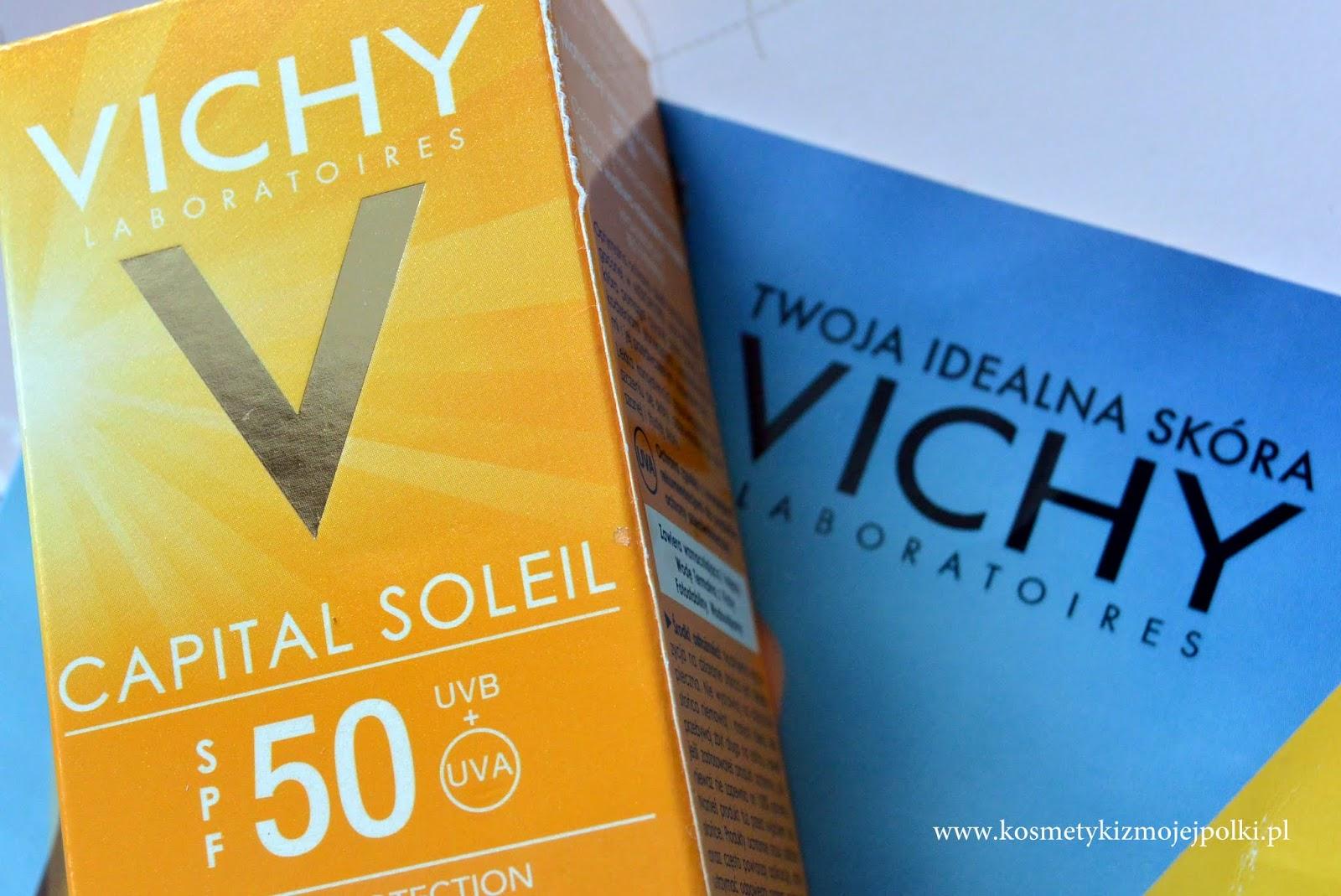 Najlepszy krem z wysoką ochroną przeciwsłoneczną | VICHY Capital Soleil SPF50 UVB + UVA