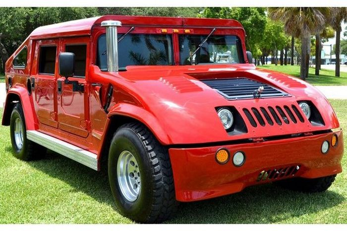Modified Hummer H1 Damn Cool Pictures