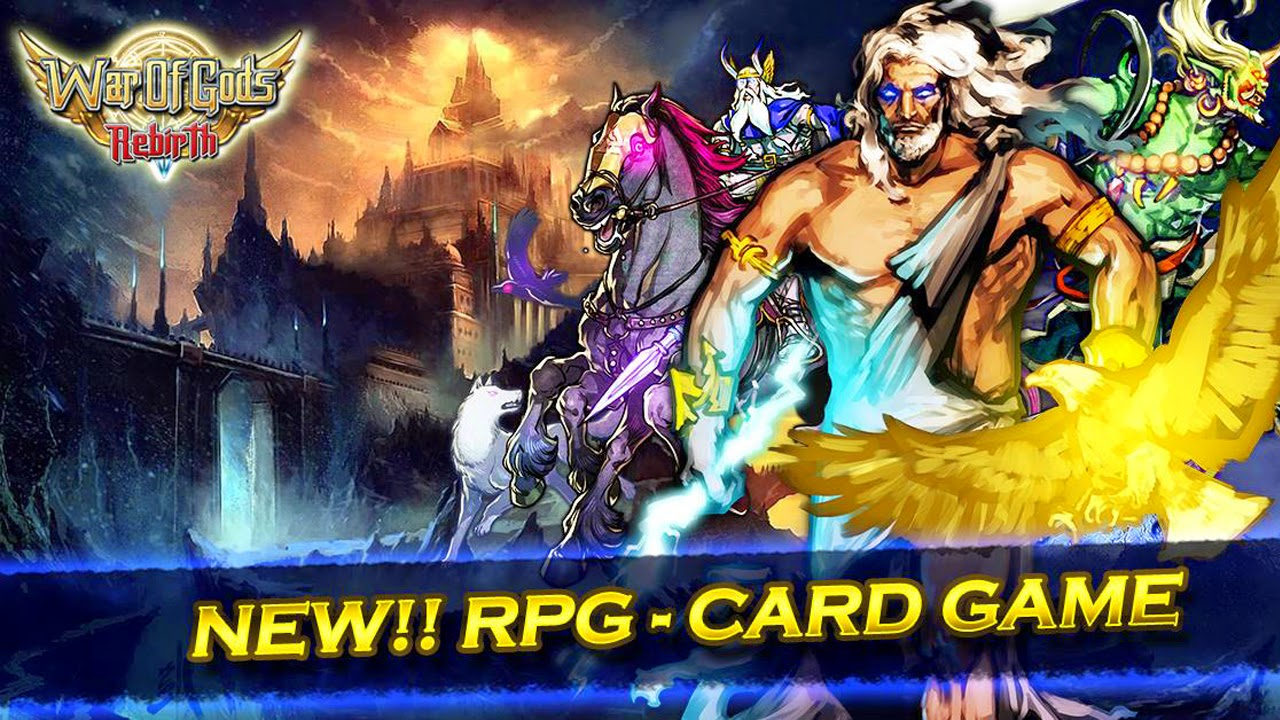 War of Gods : Rebirth Gameplay IOS / Android