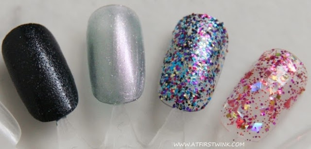 Quick swatches of Barry M. Nail Paints and Models Own nail polish