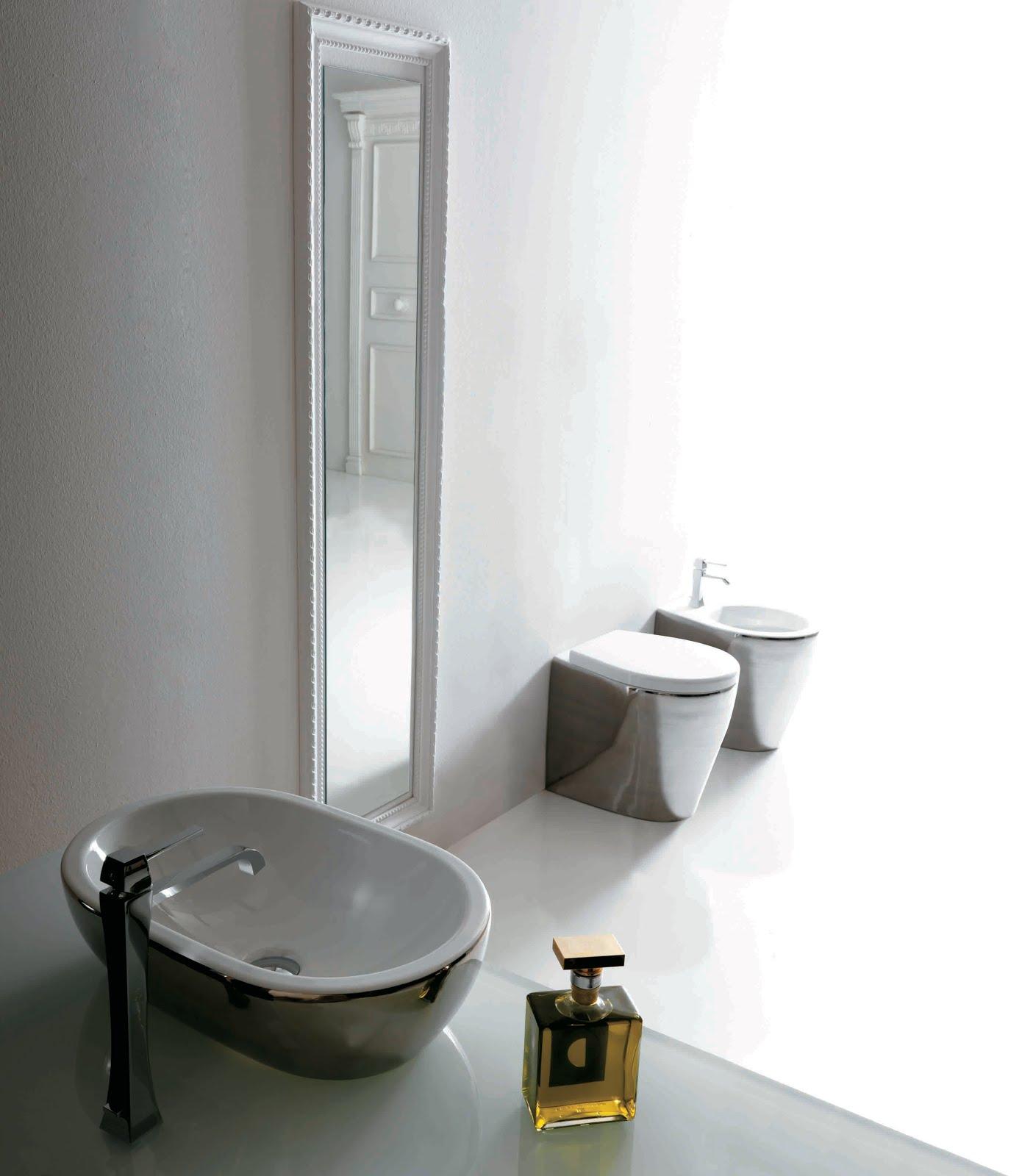 Arredo e design ceramica galassia un tocco di colore in bagno - Galassia arredo bagno ...