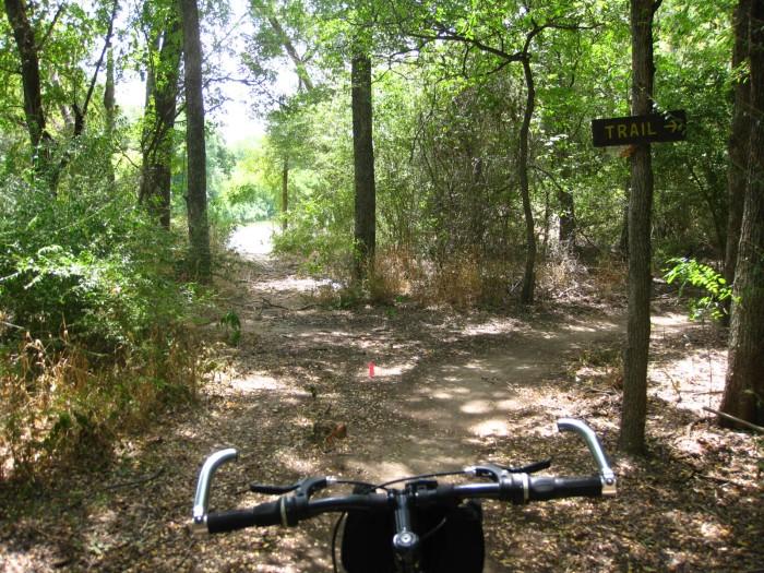 Durango Texas Gateway Park Mountain Bike Trail Sign Keeps Me From