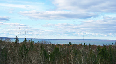 Naomikong Point Overlook, Whitefish Bay, MI