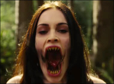 Megan Fox in Jennifer's Body horror