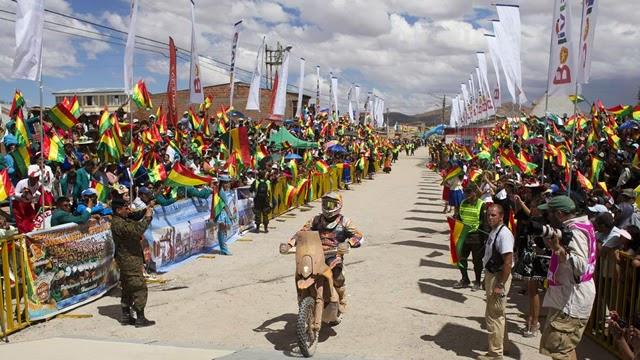 Dakar Por Bolivia - Chavo Salvatierra - Bolivia - Dakar 2015