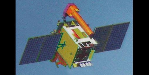 GSAT-7 satellite. Credit: ISRO