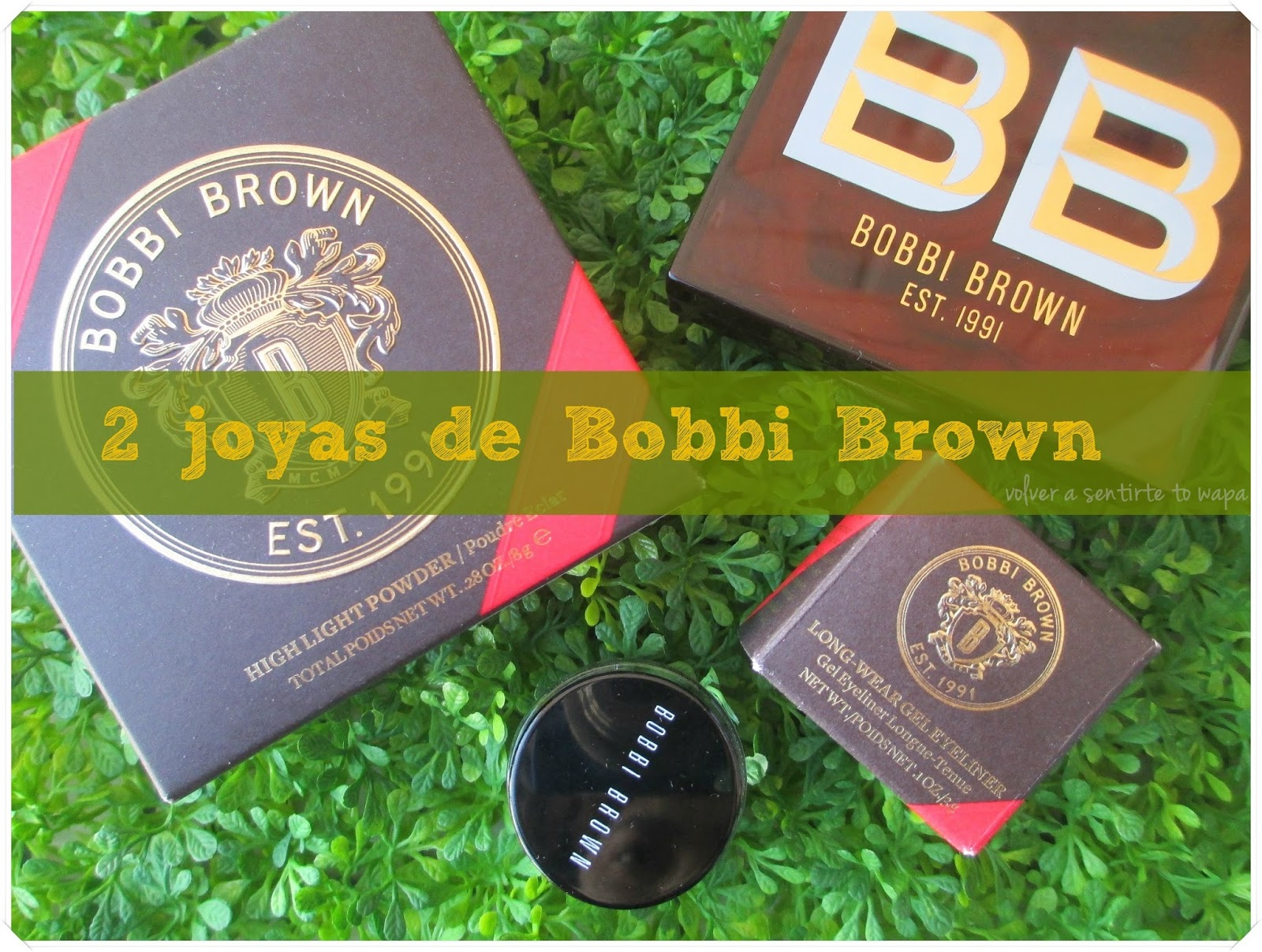 Bobbi Brown - Colección Scotch on the Rocks