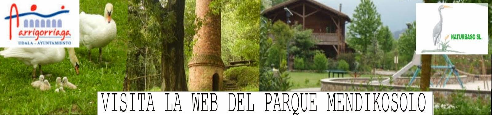 NUEVA WEB DE PARQUE MENDIKOSOLO