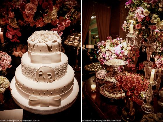 Bolos Artesanais: Casamento jardim encantado...