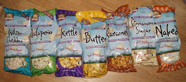 Varieties of Rocky Mountain Popcorn
