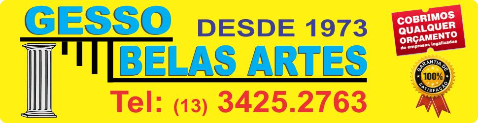 Gesso Belas Artes - Gesseiro em Itanhaém - Gesso em Itanhaém
