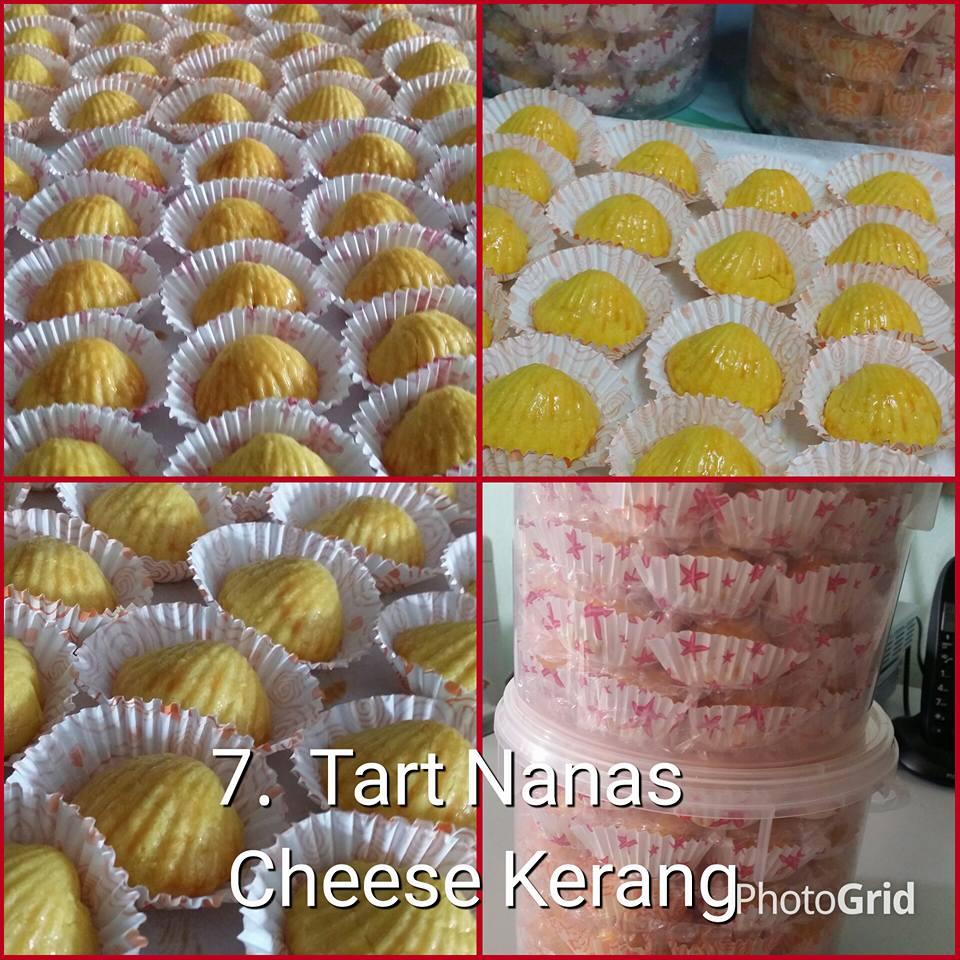 Tart Nanas Cheese Kerang