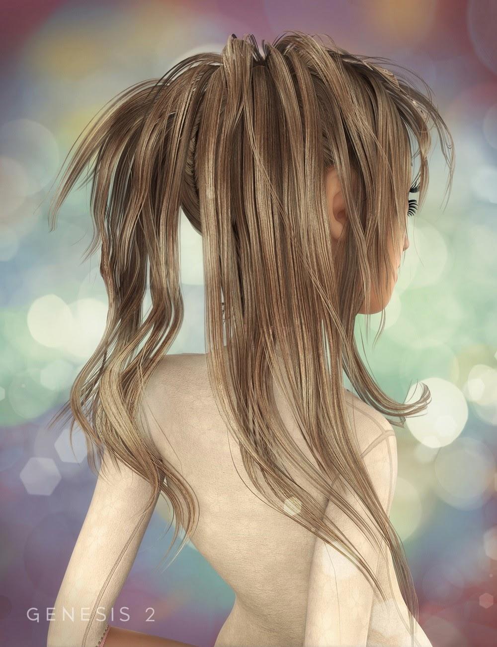 Jazmin cheveux pour Genesis 2 Femme