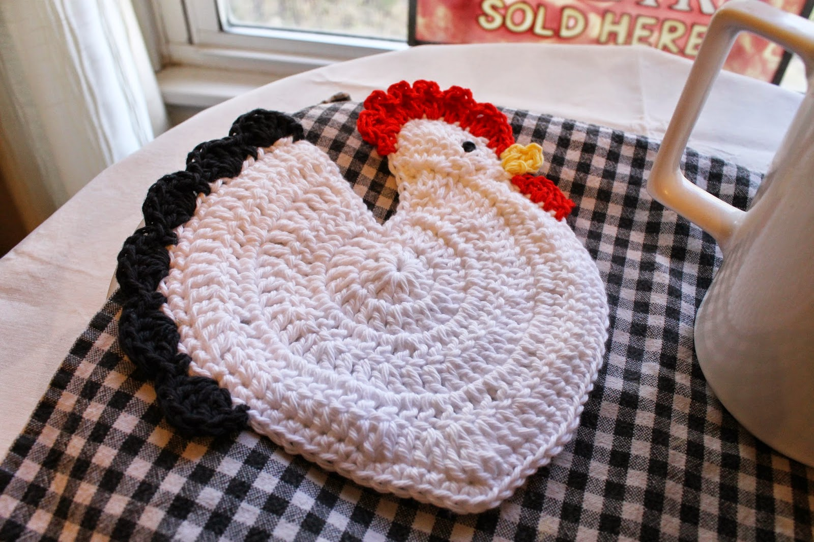 Skinny Chicken Crochet Pattern Creativehobbyore