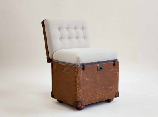 Safari Fusion blog | Pre-loved trunks, suitcases and wash tubs reborn as quirky seating in South Africa