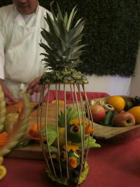 Приколы из фруктов и овощей своими руками