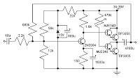 14w class a amplifier circuit using 2n3055 schematic diagram14w class a amplifier circuit using 2n3055 schematic diagram