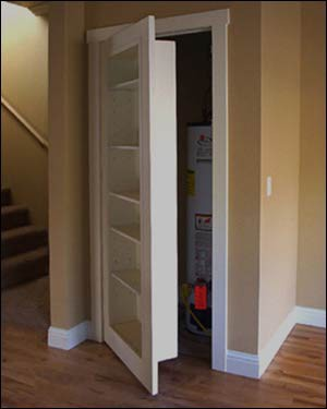 Small Space Closet Doors Home Ideas Designs