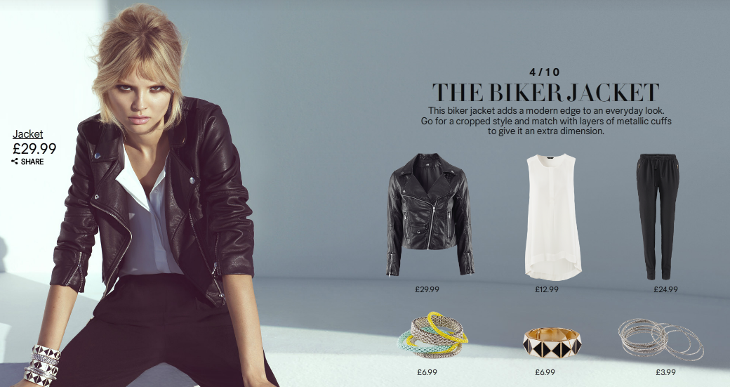 Short Biker Jacket in