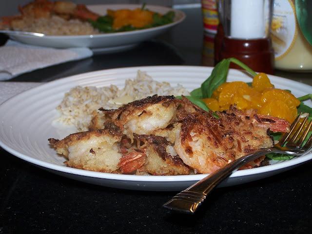 Gluten Free Hawaiian Coconut Shrimp two ways, Paleo option - Skinny GF ...