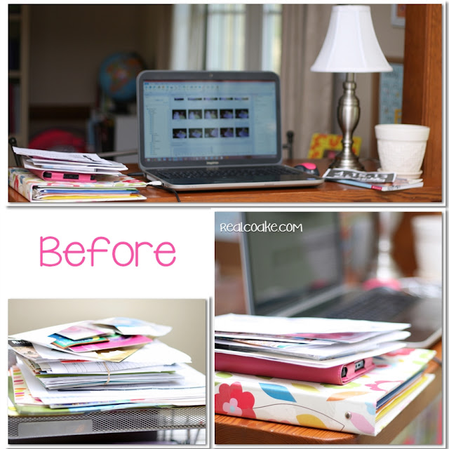 Tips for organizing your office the frugal girls for Office organization tips and ideas