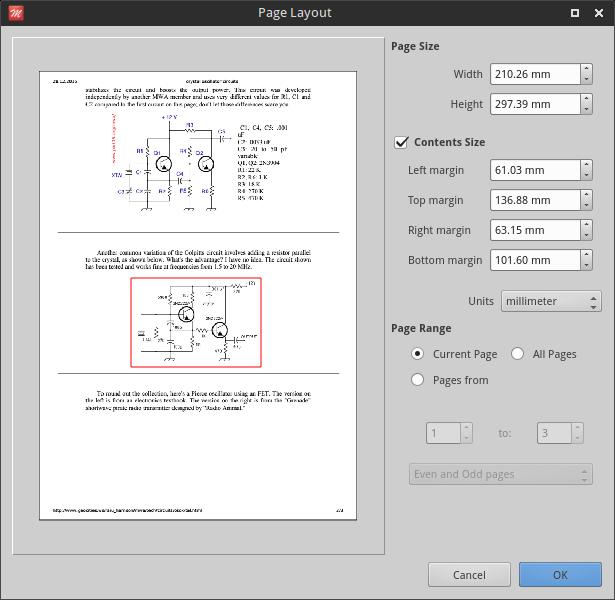 Master PDF Editor linux crop PDF