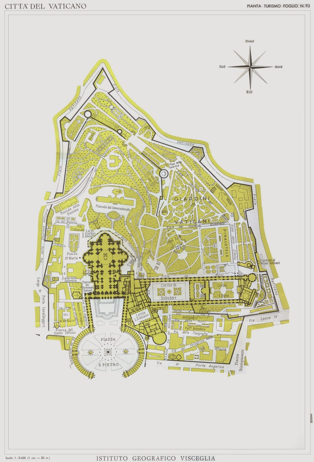 GIS Research and Map Collection Holy SeeVatican City Maps