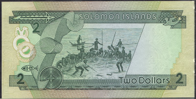 Isole Solomon 2 Dollars 1986 P# 13